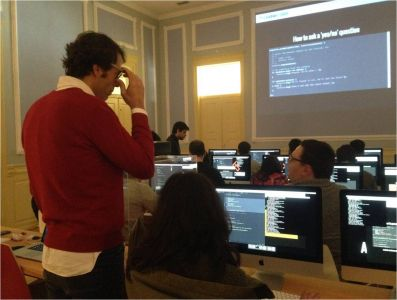 Municipality of Fundão/ Learning Coding in the Coding Academy of Fundão