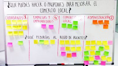 Ideas to improve local commerce