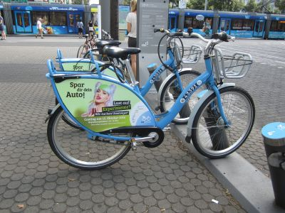 Action Spar dir dein Auto! (live carfree! - user awareness); Source: City of Mannheim;