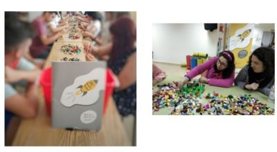 Lego sessions: building by thinking, creativity and problem solving