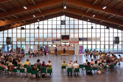 June, 20th, 2017 – public meeting, gymnasium of Cavina Sports Center / Borgo Panigale Reno district