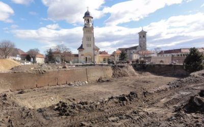 The Alba Iulia Vauben Citadel - before restoration