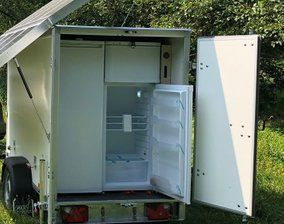 solar panels- fridge